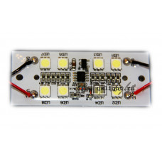 Светодиодный стробоскоп SMD 5050 8 Led F 12V IP65 Green