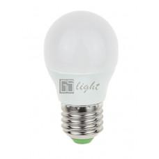 Светодиодная лампа E27 7.5W 220V ШАР Warm White